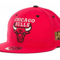 Chicago Bulls Mitchell & Ness Champ Fitted Cap