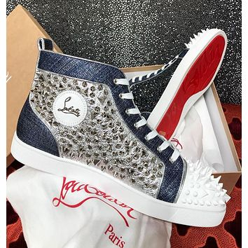 shosouvenir  Christian Louboutin Fashionable leisure shoes