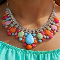 Sweet As Can Be Necklace: Multi