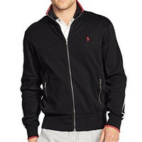 Polo Ralph Lauren Mens Big & Tall Heathered Signature Jacket