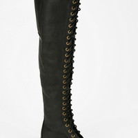 Urban Outfitters - Jeffrey Campbell Meds Studded Over-The-Knee Boot