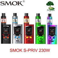 SMOK S-Priv Electronic Vape Kit Cigarette 230W Mod 5ml TFV8 Light Edition Tank