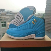 Air Jordan 12 Retro North Carolina Blue Sneaker Size 40 47 | Best Deal Online