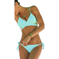 Women's Summer Swimwear Beach Swimsuit Push Up Swimwears Tankinis Sexy Bathing suit 2pc Set