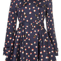 Smudged Spot Printed Trench - Raincoats & Trenches - Jackets & Coats - Clothing - Topshop