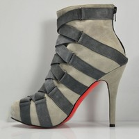 Christian Louboutin Women Fashion Casual Heels Shoes Boots-42