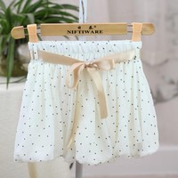 Pants Casual Summer Chiffon Lights Dress Shorts [11723872335]