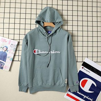 Champion new fashion men's and women's hoodie casual sports long-sleeved top