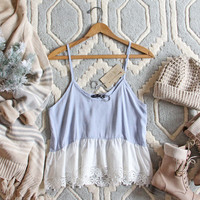 Snowed In Layering Tank