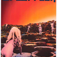 Led Zeppelin Houses of the Holy Poster 11x17
