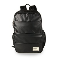 Korean Backpack PU Leather Men Casual Travel Bags [6542312707]