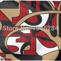 San Francisco 49ers Hot Design Flag Banner New 3x5ft 90x150cm Polyester 9922, free shipping