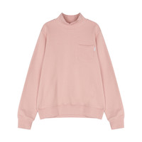 POCKET TURTLENECK SWEAT SHIRT (PINK)