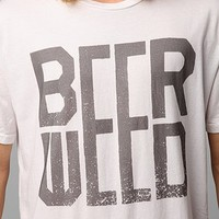 Beer And Weed Tee