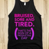 Bruised, Sore, and Tired