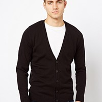 River Island Cardigan in Black at asos.com