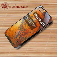 Vintage Travel Quote (2) custom case for all phone case