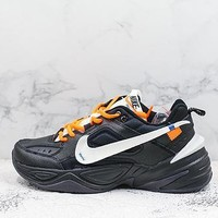 Nike M2k Tekno X Off-white Black Sneakers