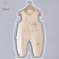 Baby rompers winter parka for newborn baby clothes Organic cotton baby girl boy clothing baby Jumpsuit christmas infant romper