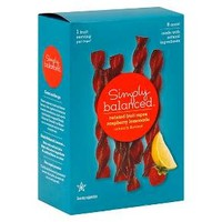 Raspberry Lemonade Twisted Fruit Ropes 8 ct - Simply Balanced™