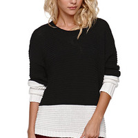LA Hearts Dropped Arm Crew Sweater at PacSun.com