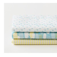 Dailylike quarter pack of 3 cotton fabric - cloud