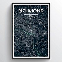 Point Two Design Group - Richmond City Map