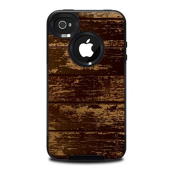 The Old Worn Wooden Planks V2 Skin for the iPhone 4-4s OtterBox Commuter Case