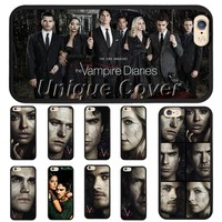 The Vampire Diaries 8 Case For iphone 5/5s/5se 6/6s 7 6/7 plus 6s plus TPUPC Matt John Case Phone Cover for Ipod Touch 5th Case