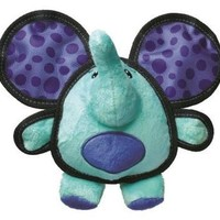 KONG Ballistic Big Ears Elephant Plush Dog Toy 1ct