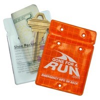 Runners Reflective Shoe Pocket ID & Key Pouch