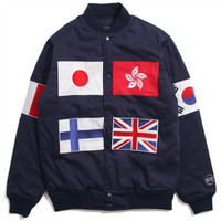 World Team Varsity Jacket Navy