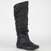 Qupid Neo Womens Boots Black  In Sizes