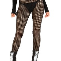 Get Close Fishnet Leggings
