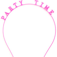 ban.do girl talk headband party time