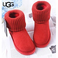 Bunchsun UGG Autumn And Winter Fashion New Keep Warm Women Shoes Boots