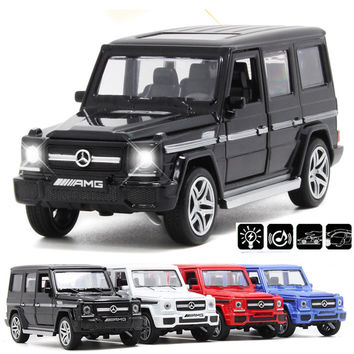 1/32 diecast cars Benz G65 alloy model car back acousto-optic toy vehicle