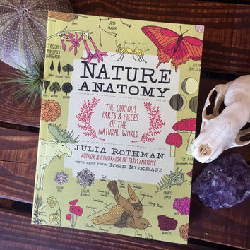 Nature Anatomy, The Curious Pieces and Parts of the Natural World by Julia Rothman
