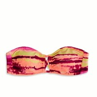 AEO Women's Banded Cutout Bandeau (Pink)