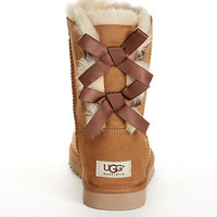 UGG Australia Bailey Bow Short Boots Shoes 1002954 at BareNecessities.com
