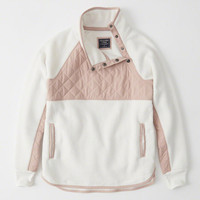 Womens Asymmetrical Snap Pullover | Womens Tops | Abercrombie.com