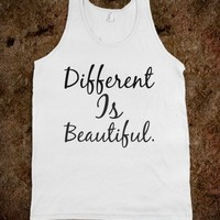 Different Is Beautiful - Words Words Words