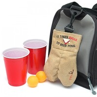 Mysack, It Takes Balls to Beer Pong, Ball Holder