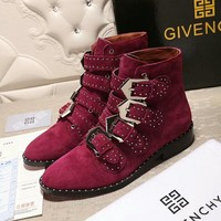 Givenchy Women Fashion Casual Punk Boots Shoes-1