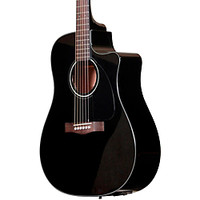 Fender CD60CE Cutaway Dreadnought Acoustic-Electric Guitar | GuitarCenter