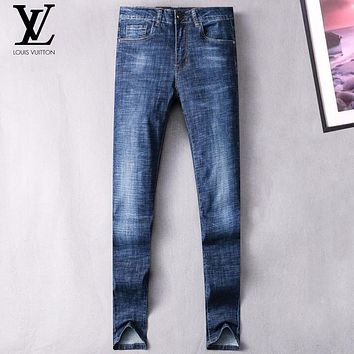 Boys & Men Louis Vuitton Fashion Casual Pants Trousers Jeans