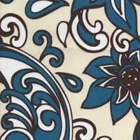 Loni Cream Floral Outdoor by Premier Prints - Drapery Fabric - Discount Fabrics