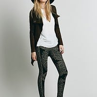 Free People Womens Hendrix Sweater Legging