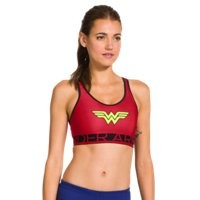 Under Armour Women's Under Armour® Alter Ego HeatGear® Alpha Wonder Woman Sports Bra