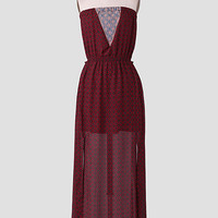 Dining In Rome Maxi Dress